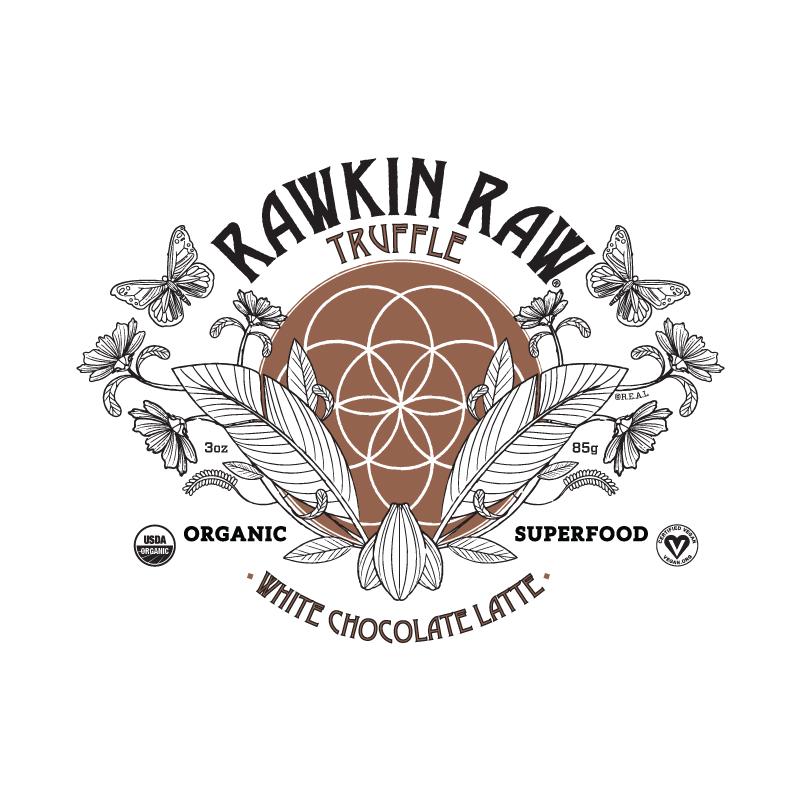 Organic White Chocolate Latte Truffle