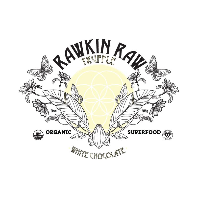 Organic White Chocolate Truffle